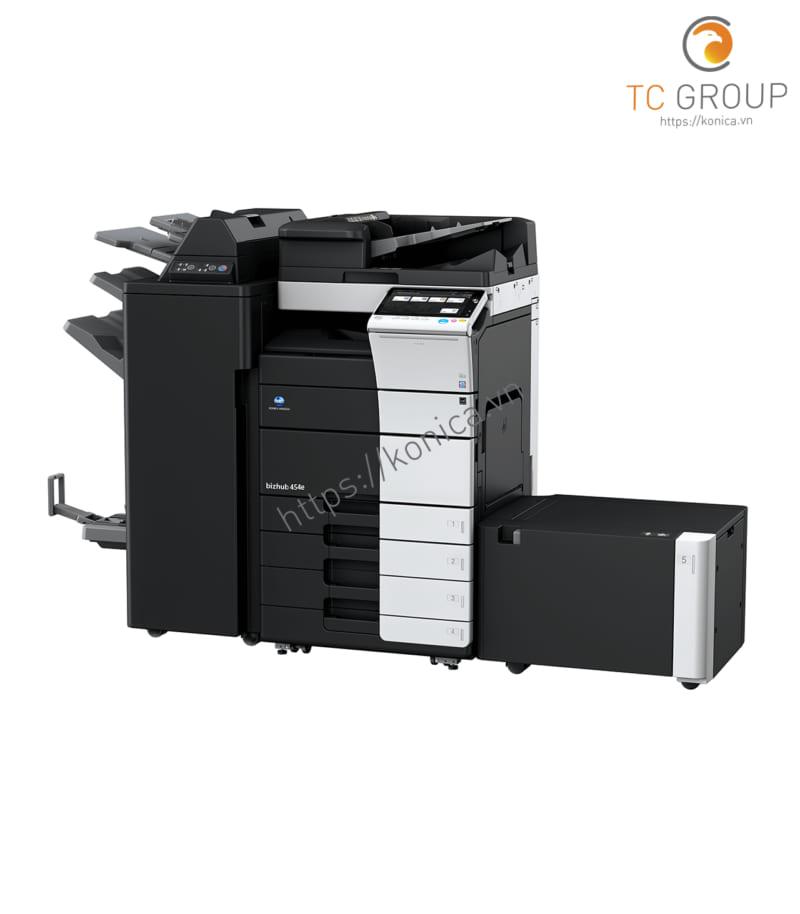 Máy photo Konica BIZHUB 454e có tốc độ xử lý cao và chất lượng in tốt