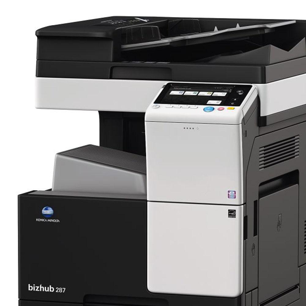 Máy photocopy Konica BIZHUB 287 đen trắng với nhiều tính năng