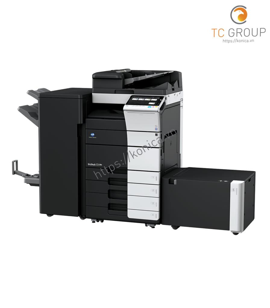 Máy photocopy Minolta Konica BIZHUB C554e có tốc độ in ấn tượng
