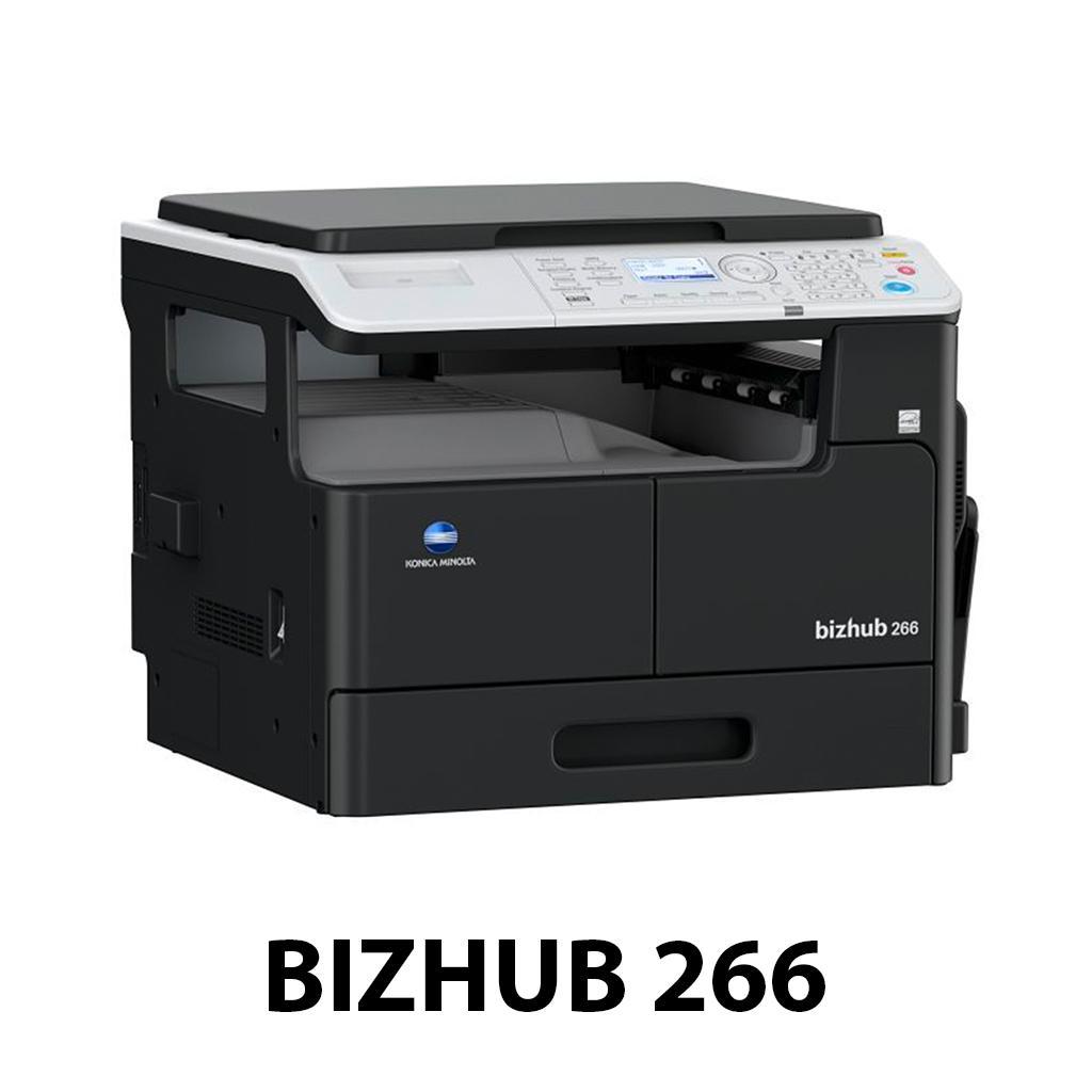 Mẫu máy photocopy Konica Bizhub 266