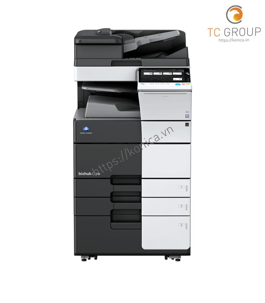 Máy photocopy Konica BIZHUB C554e màu chính hãng tại TC Group