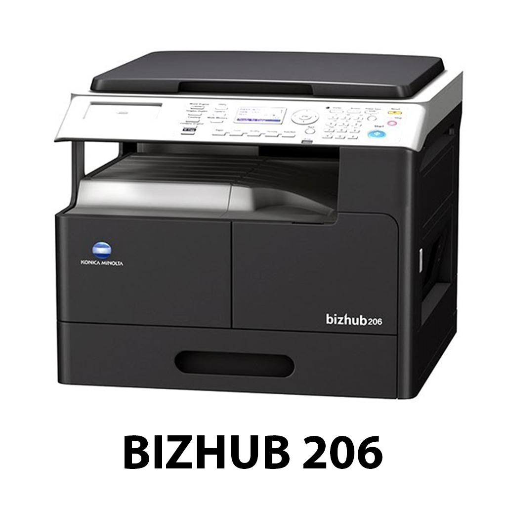 Máy photocopy Konica Minolta BIZHUB 206 chất lượng cao