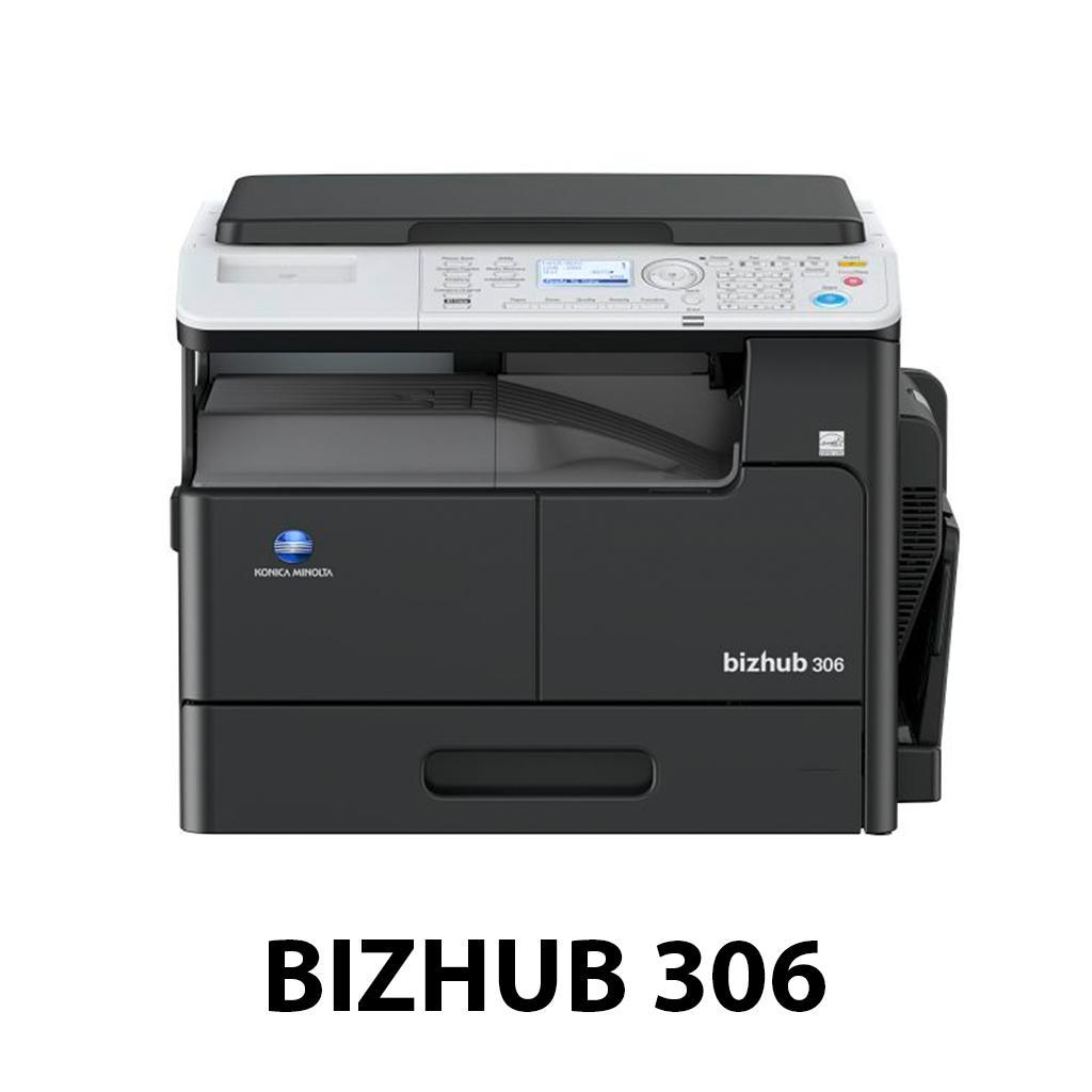Mẫu máy photocopy Konica Bizhub 306
