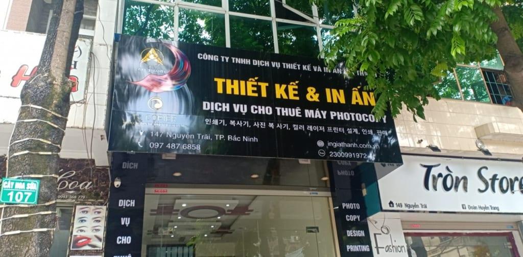 Cho thuê máy photocopy Bắc Ninh