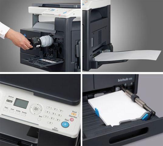 Máy photocopy Konica BIZHUB 185 hiện đại