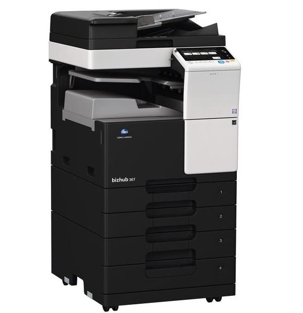 Sản phẩm máy photocopy Konica Minolta 367 chính hãng