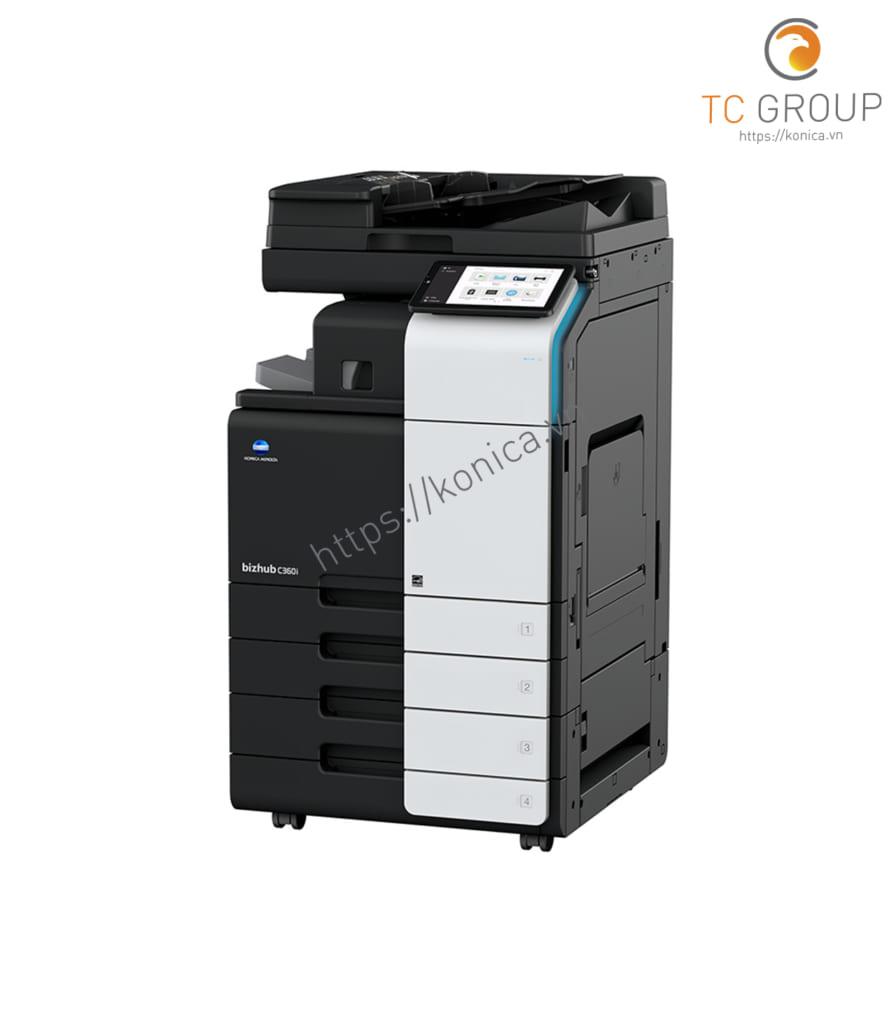 Máy photocopy Minolta Konica BIZHUB C360i với thiết kế sang trọng