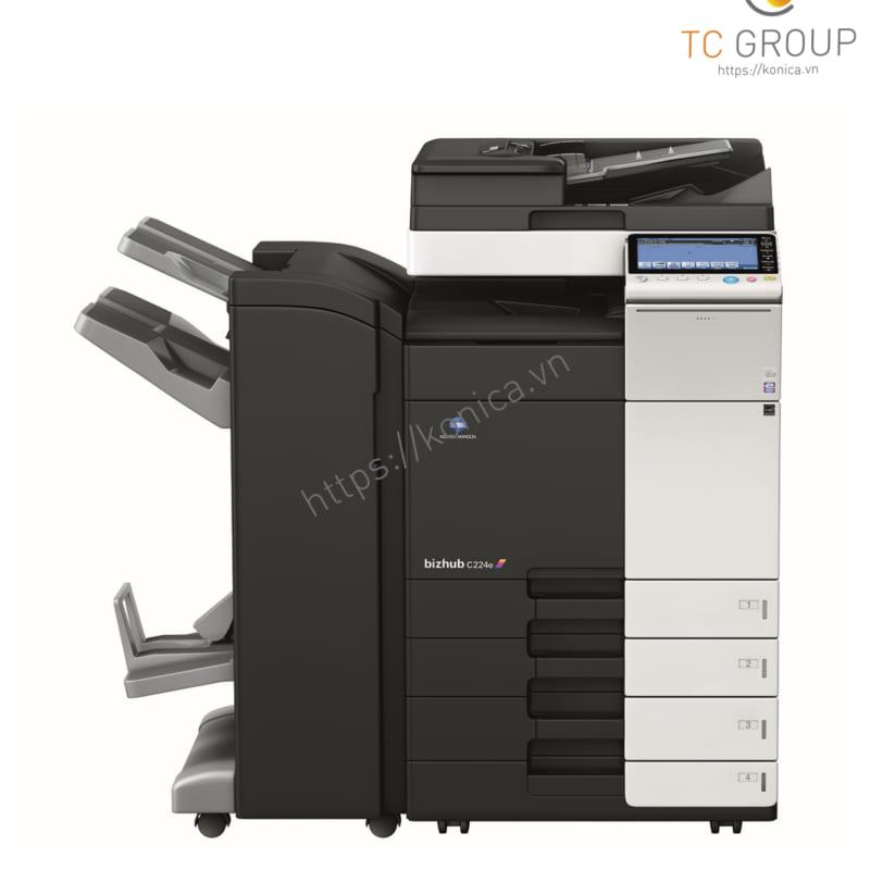 TC Group phân phối máy photocopy Konica BIZHUB C224e màu chính hãng