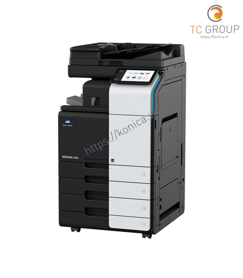 Máy photocopy Minolta Konica BIZHUB C300i có thiết kế hiện đại