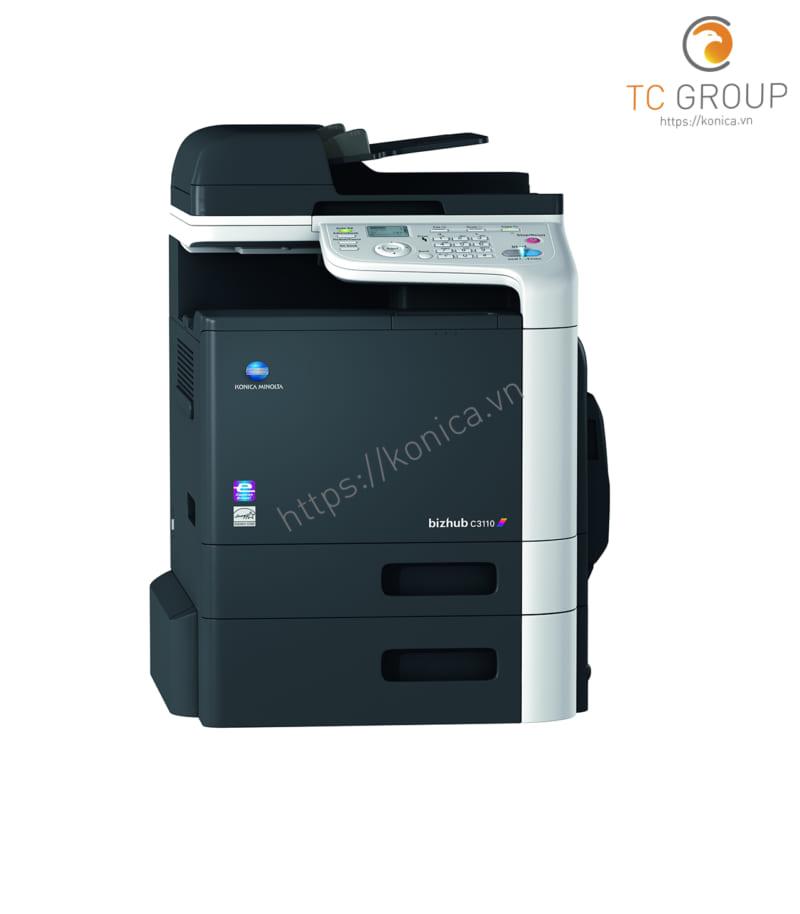 Máy photocopy Konica BIZHUB C3110 sở hữu thiết kế nhỏ gọn