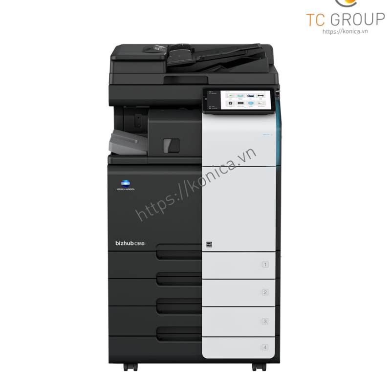 Máy photocopy Minolta Konica BIZHUB C360i chính hãng tại TC Group