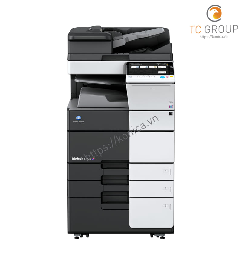 Máy photocopy Minolta Konica BIZHUB C558e chính hãng