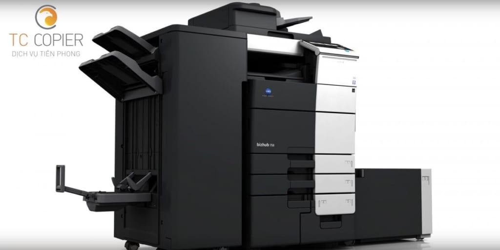 Máy photocopy konica