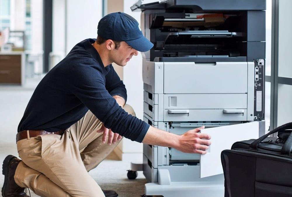 Hướng dẫn in tài liệu từ USB qua máy photocopy XEROX