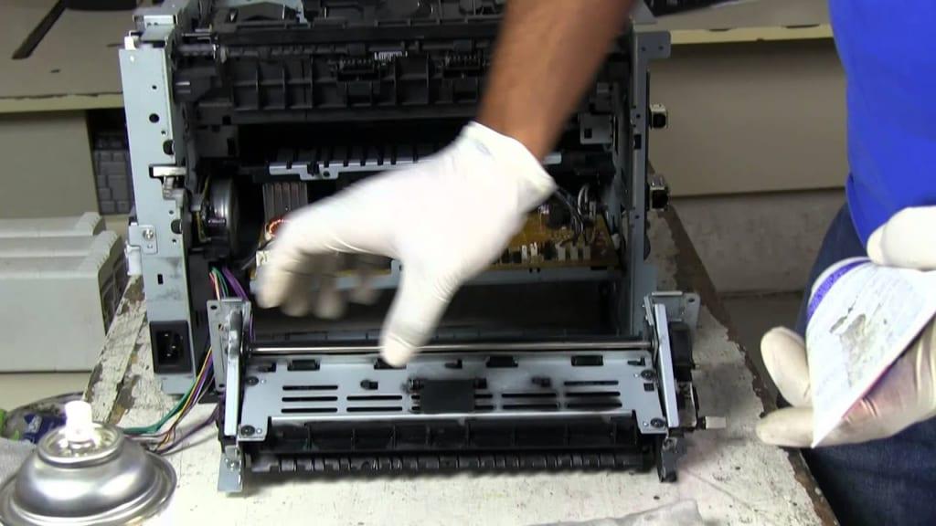THay mực, sửa chữa miễn phí khi thuê máy tại TC