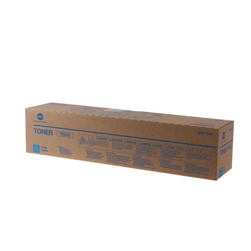 Mực/Toner Cyan chính hãng Konica Minolta TN622C Xanh
