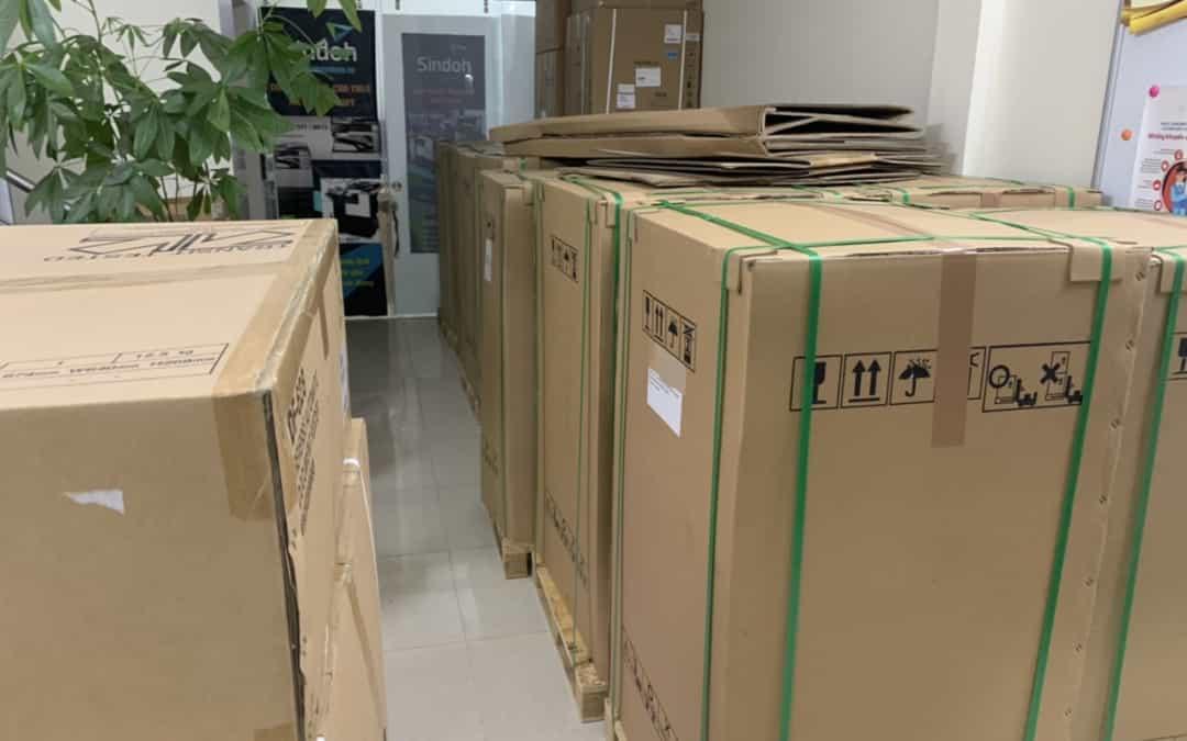 Kho máy photocopy tân trang TC Group Việt Nam