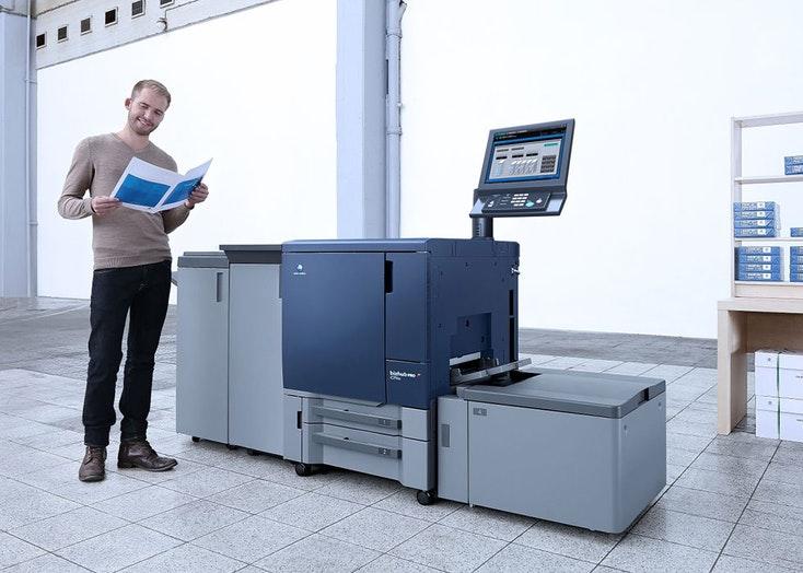 Konica Minolta Bizhub Press C71HC – máy in công nghiệp đời mới