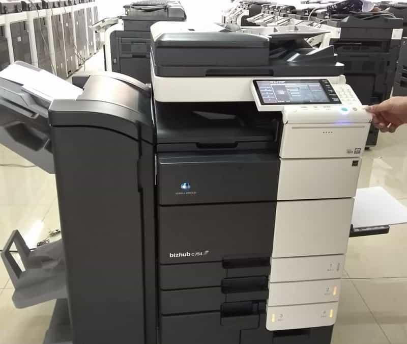 Thuê máy photocopy tân trang