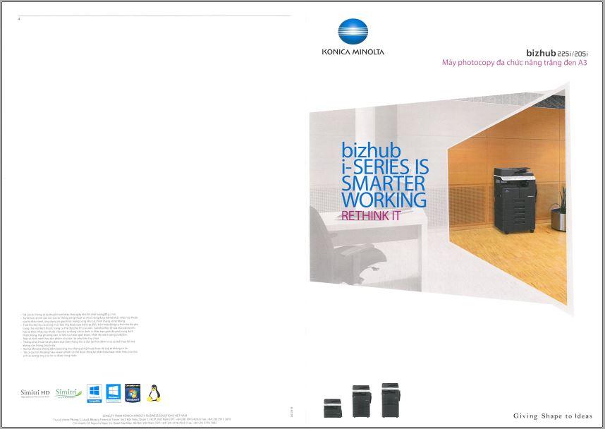Konica Minolta Bizhub 205i Brochure