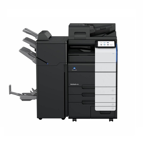 Konica Minolta Bizhub 450i(options) front